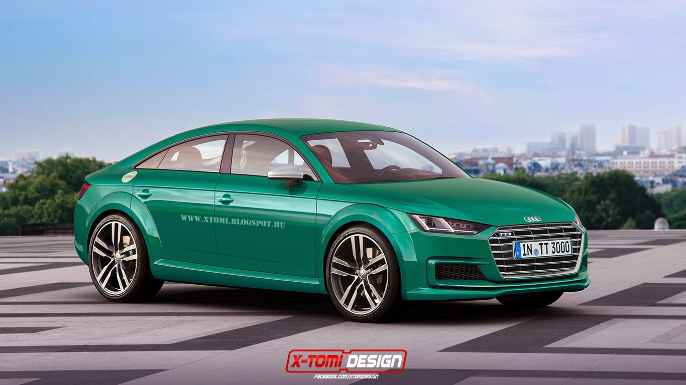 Here S What The 2017 Audi Tt Sportback Might Look Like In