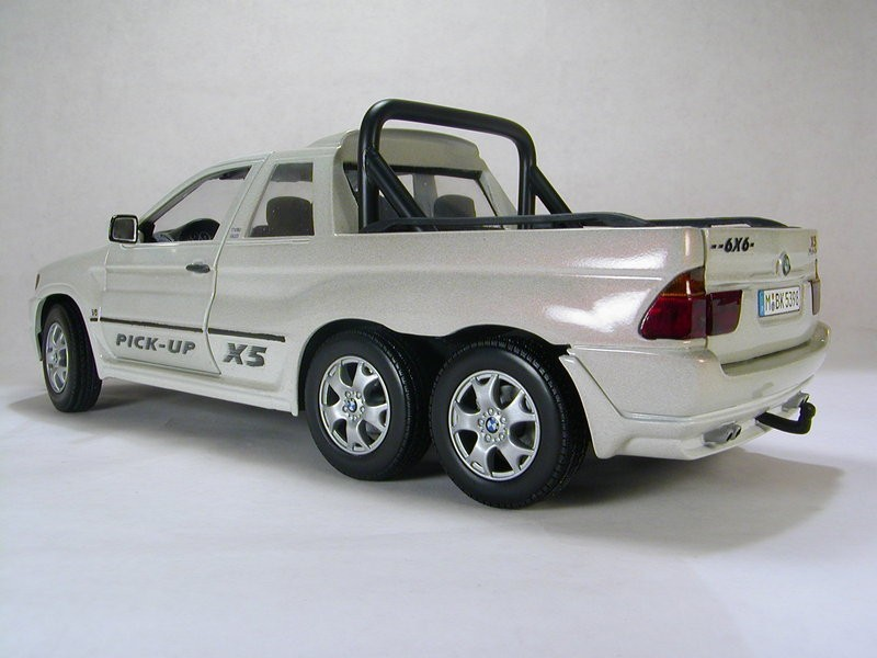 Here's a BMW X5 6x6 Pickup for You. Too Bad it's a Scale ...