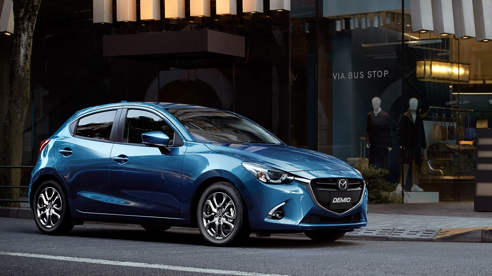 here's the 2017 mazda2 facelift before its geneva motor show debut