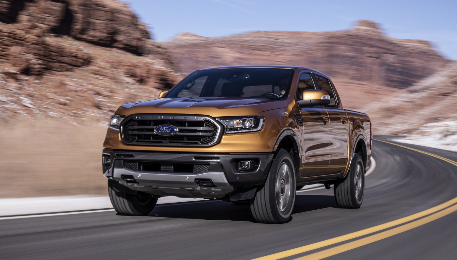 Ford Ranger pickup undergoes tough tests to get ready for the road
