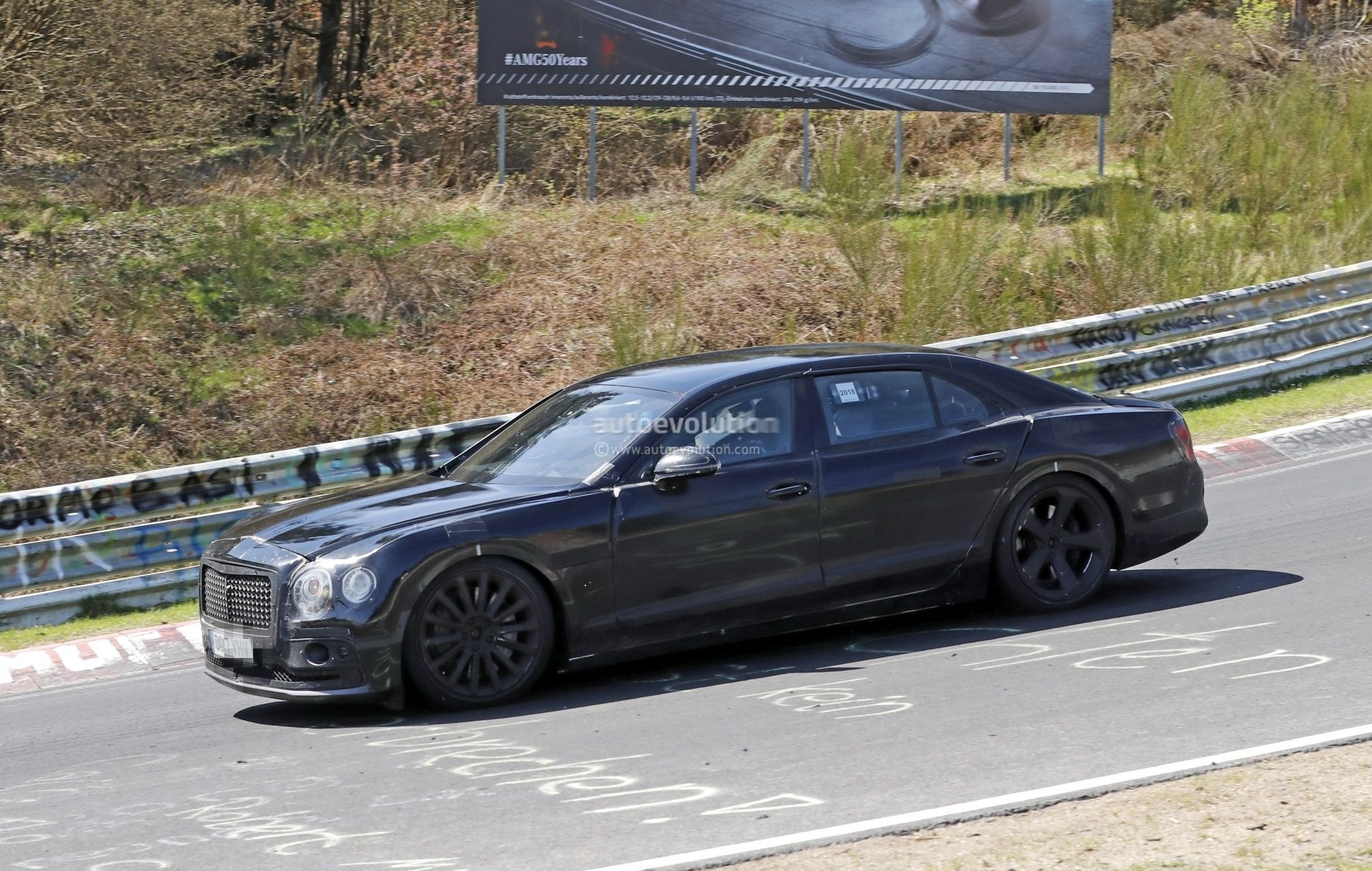 Here S The 2020 Bentley Flying Spur Taking On The Nurburgring
