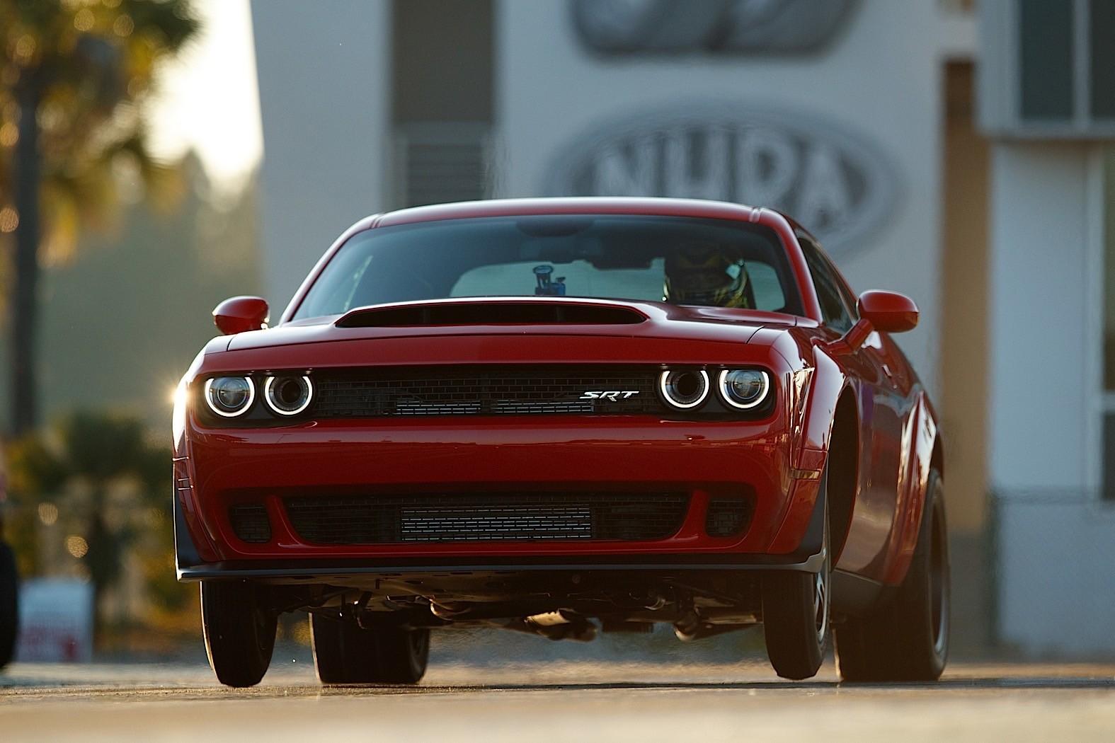 "Here's The Dodge Challenger Demon's ""Benny"" V8 Doing Its ..."