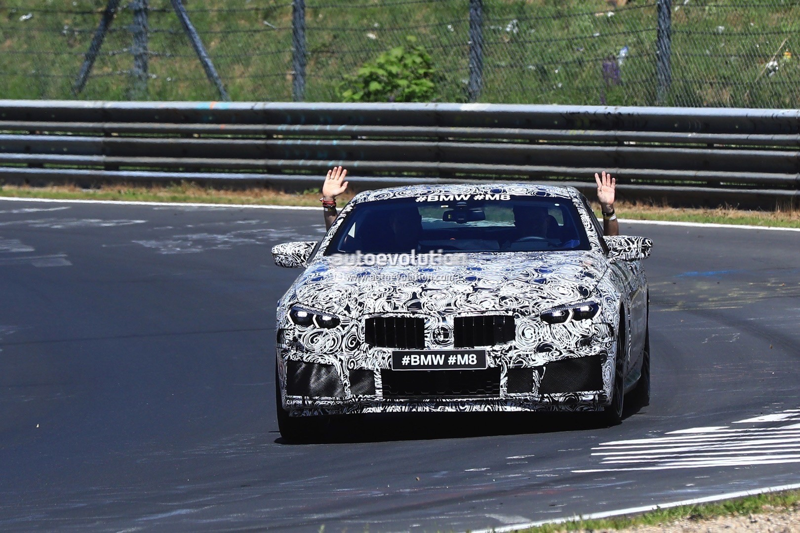 2018 bmw m8. plain bmw 2018 bmw m8 spy photo for bmw m8