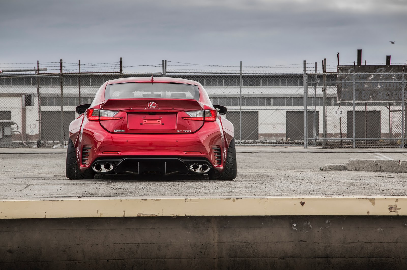 Here s your rocket bunny lexus rc and a more visceral rc f autoevolution