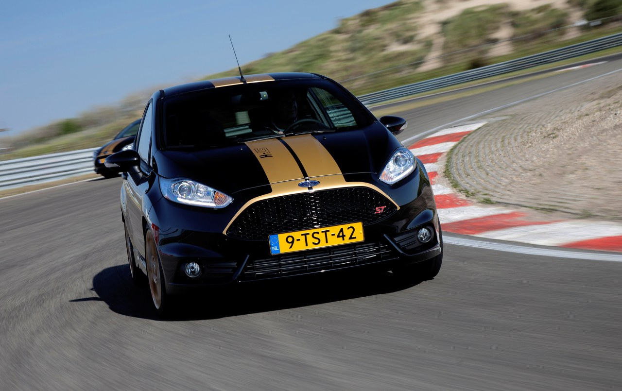 Hertz Spruces Up The Ford Fiesta St Autoevolution