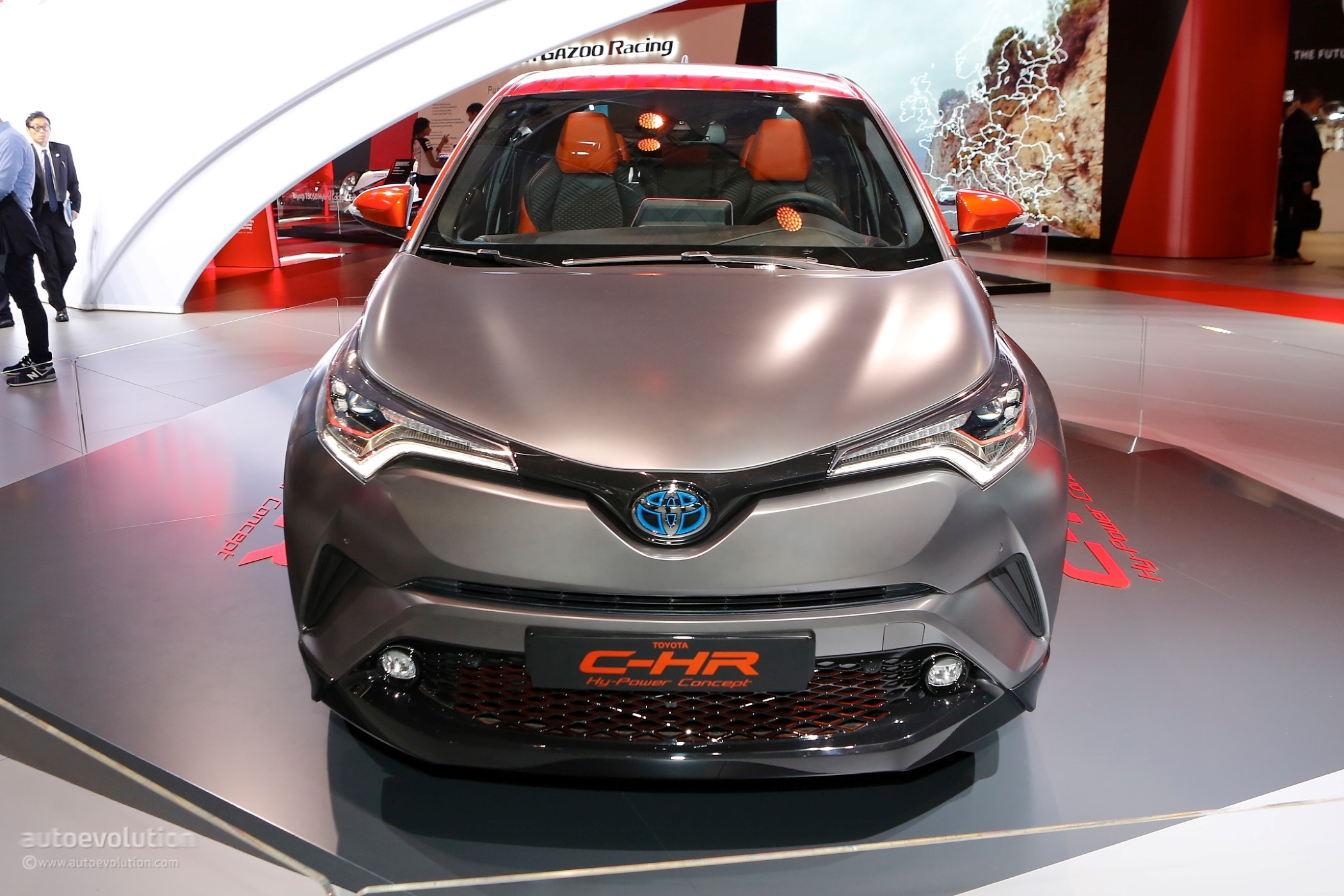 toyota c hr hy power concept previews high performance hybrid vehicles autoevolution. Black Bedroom Furniture Sets. Home Design Ideas