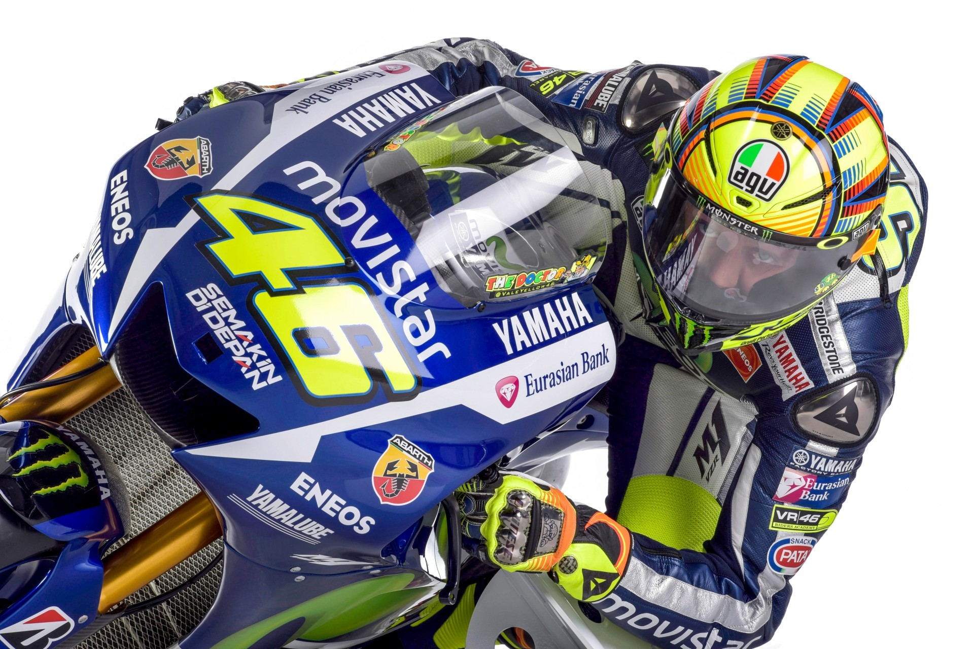 High-Res Photos of the 2015 Yamaha YZR-M1 with Rossi and ...