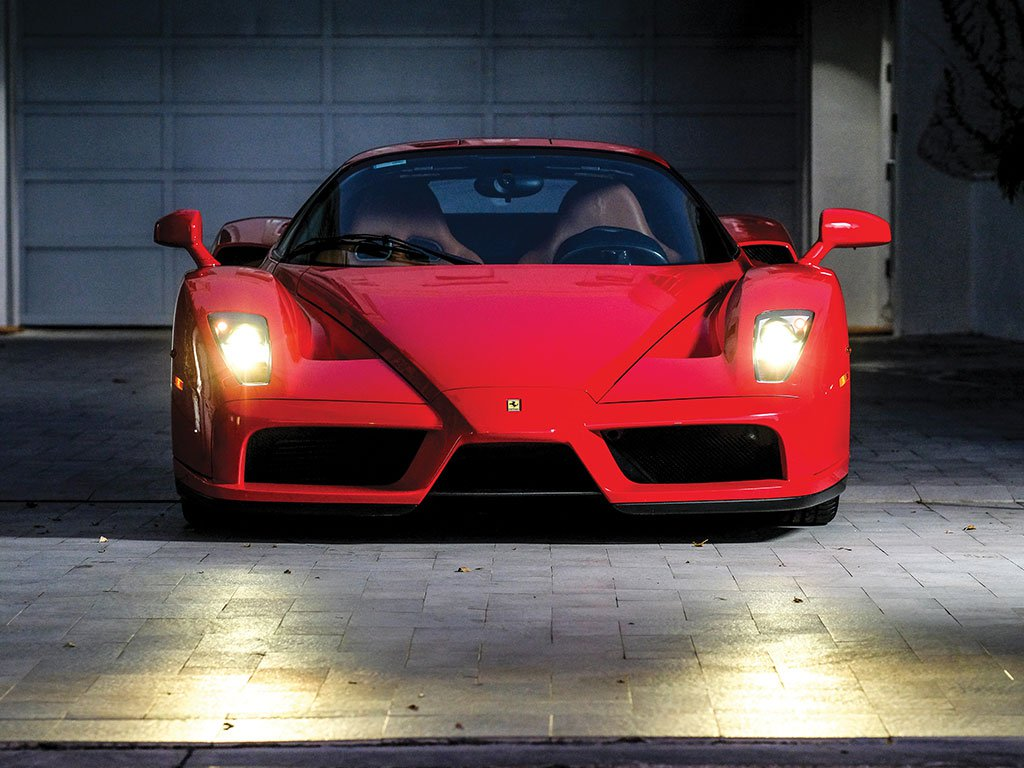 Fashion Designer Tommy Hilfiger's Ferrari Enzo Heading to Auction ...