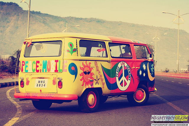 Hippie Van Hippie Van Tent ... & Hippie VW Bus Tent Will Make Your Woodstock Memories Recall ...