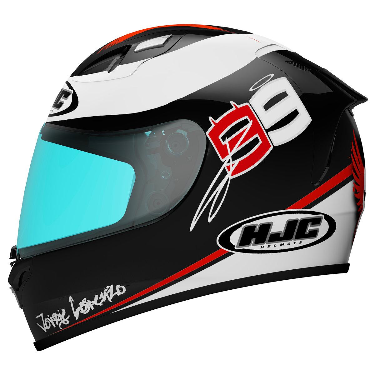Safest Motorcycle Helmet >> HJC Announces RPS-10 Ben Spies Helmet Replica - autoevolution