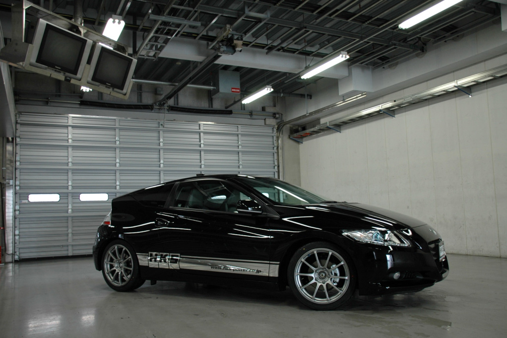 hks tunes the honda cr z autoevolution. Black Bedroom Furniture Sets. Home Design Ideas