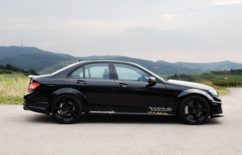 Hms Tuning Supercharges C63 Amg To 690 Hp Autoevolution