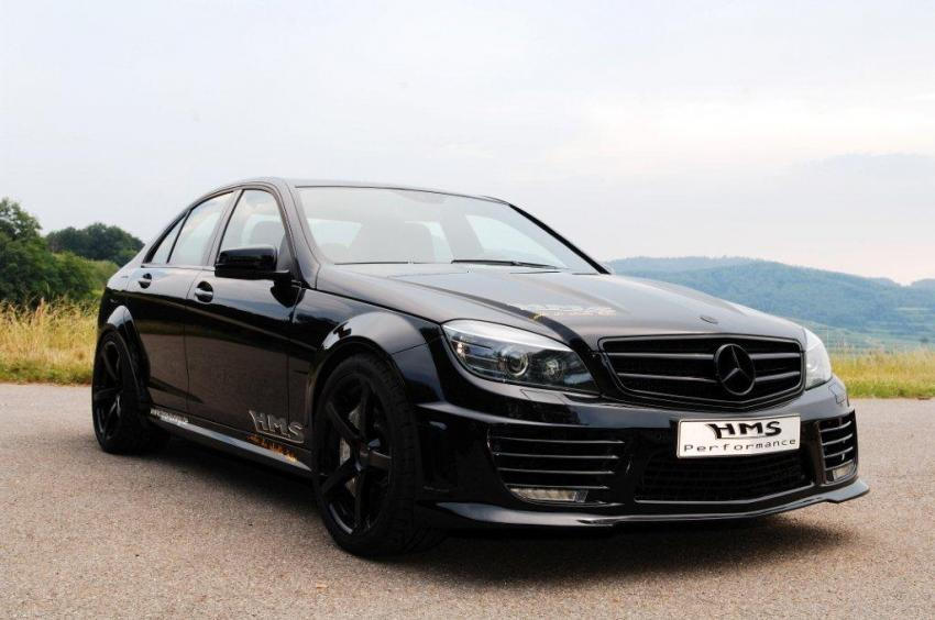 HMS Tuning Supercharges C63 AMG to 690 HP - autoevolution