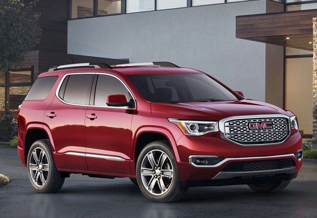 2016 Gmc Acadia For Sale >> Holden Acadia Revealed, Goes On Sale In 2018 - autoevolution
