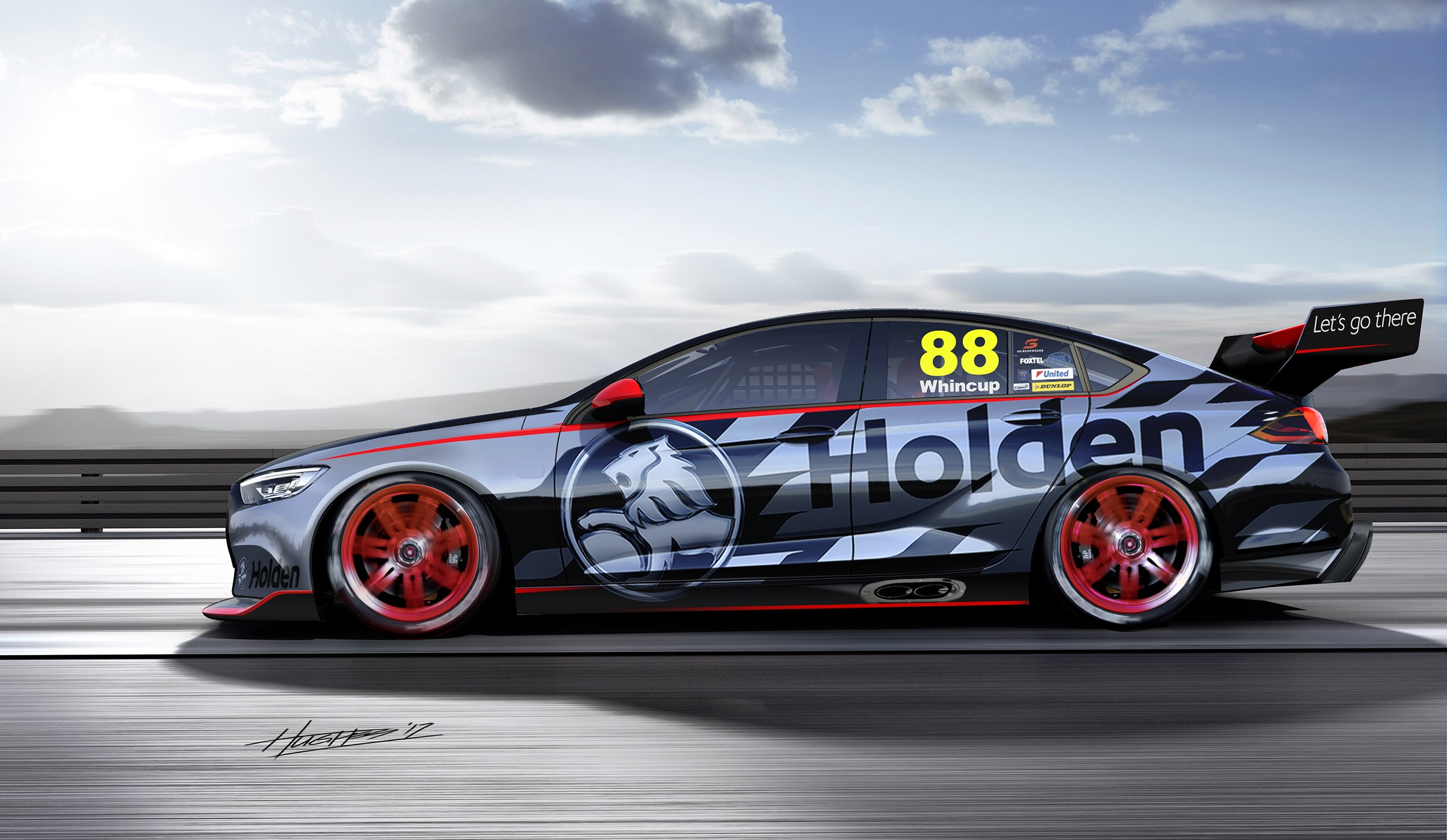 Holden Reveals NG Commodore-based V8 Supercar Concept