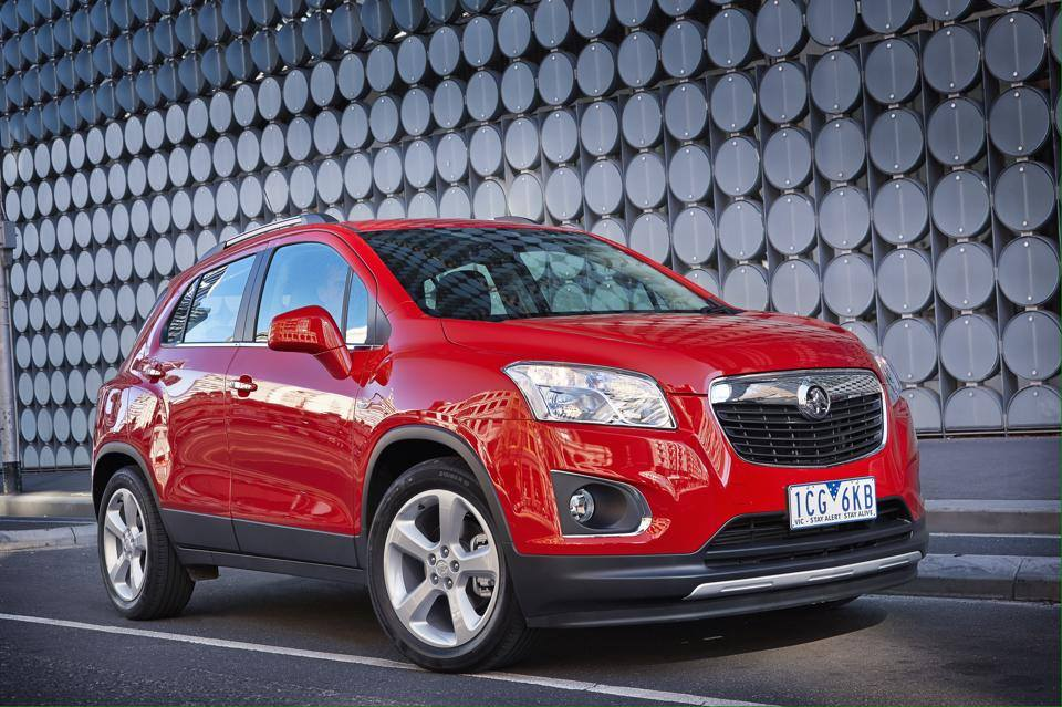 Holden Trax LTZ Turbo Boasts With 103 kW - autoevolution