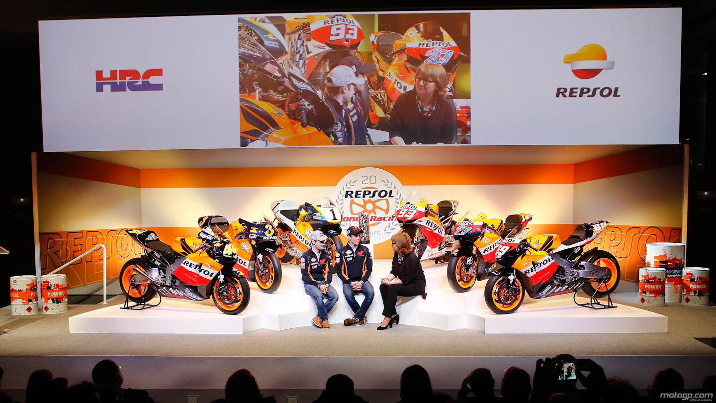 Honda and Repsol Celebrate 2 Decades of MotoGP Racing - autoevolution