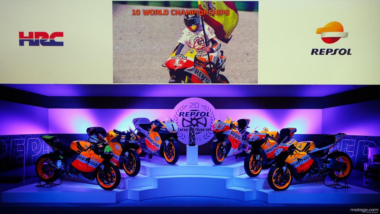 Honda and Repsol Celebrate 2 Decades of MotoGP Racing ...