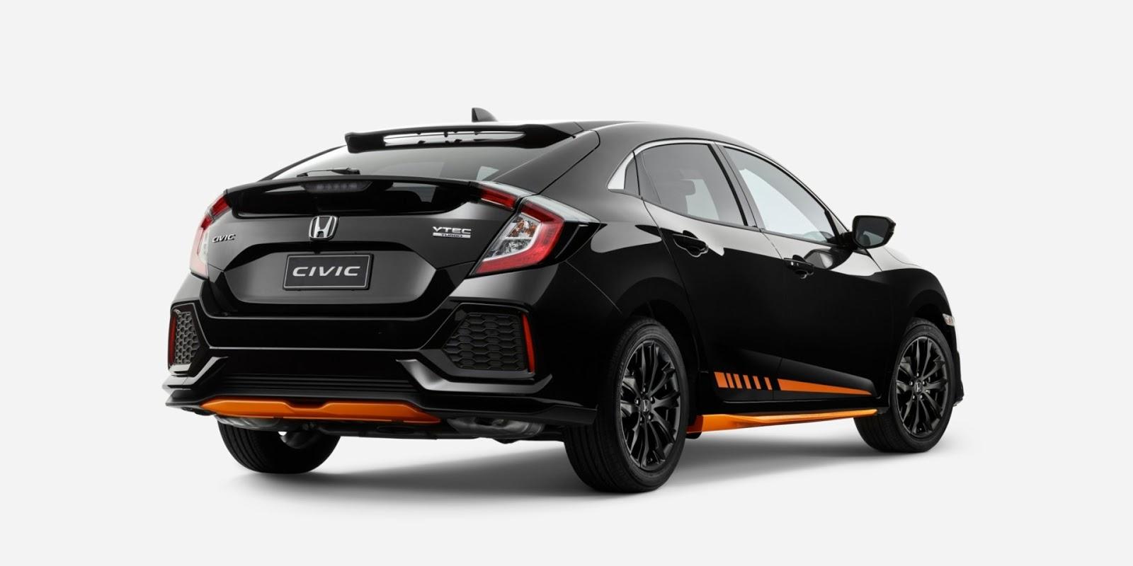 Honda Australia Embellishes The Civic Hatchback With