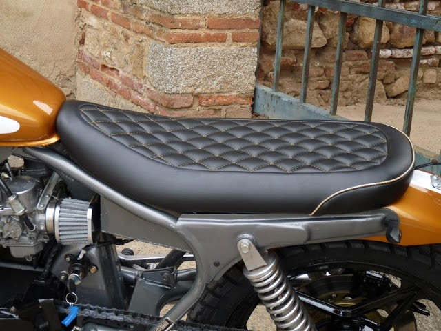 Honda CB450DX Tracker By Motobike Badajoz