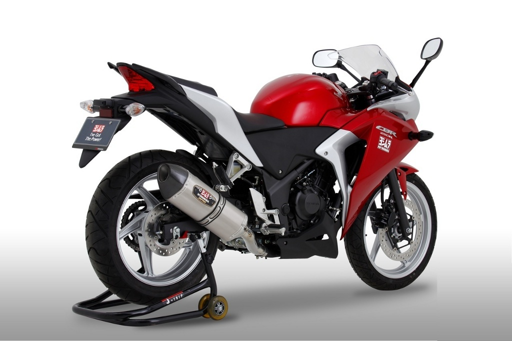 Honda Cbr250r Gets Street Sport Exhausts From Yoshimura