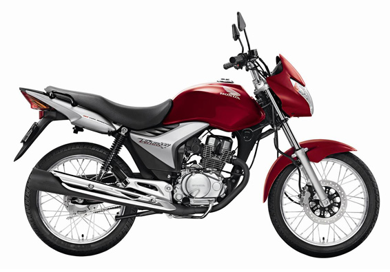 Honda Cg150 Titan Mix First Fuel Flex Motorcycle