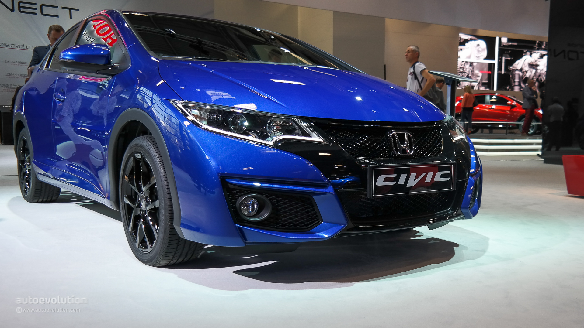 honda civic 5 door hatchback coming to the us in 2016 autoevolution. Black Bedroom Furniture Sets. Home Design Ideas