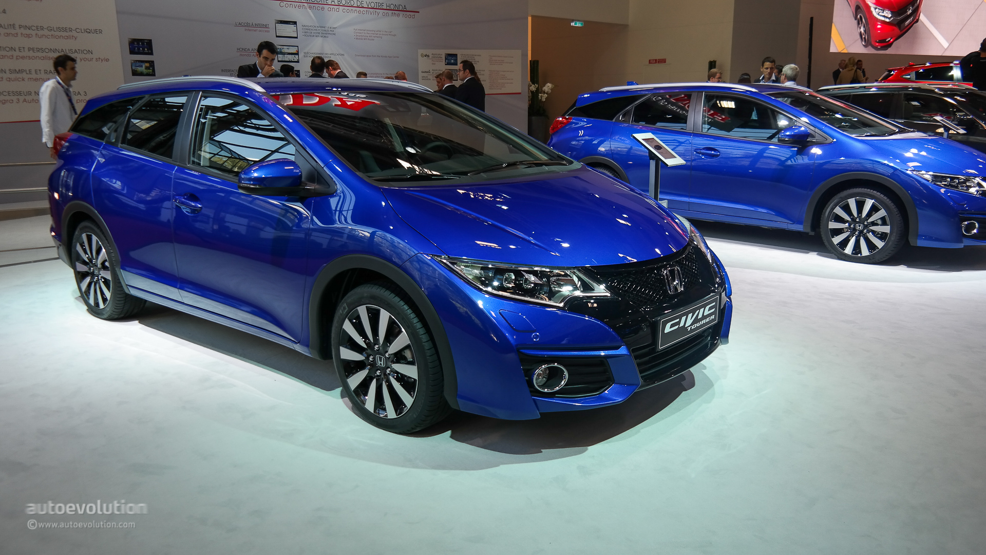 Honda Civic Tourer 2018 >> Honda Civic 5-Door Hatchback Coming to the US in 2016 - autoevolution