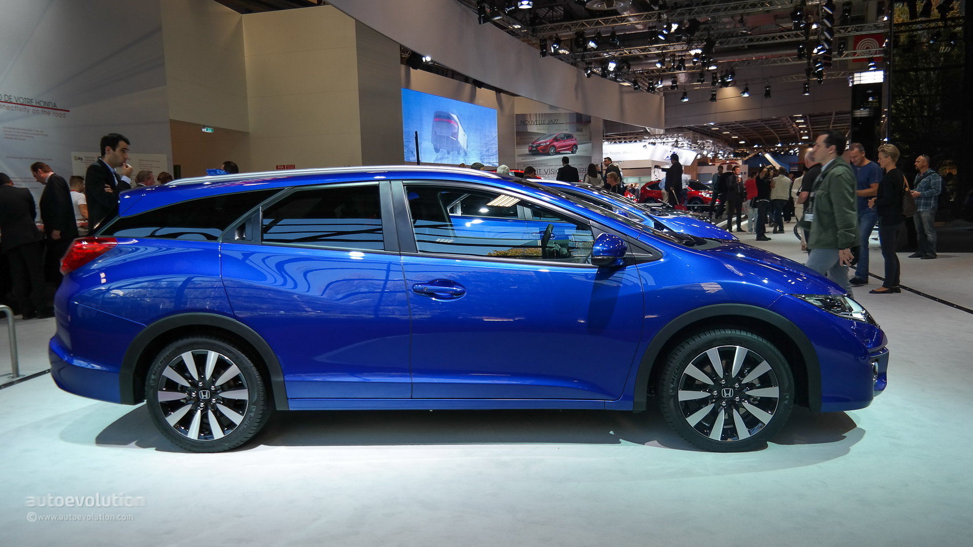 Honda Civic 5-Door Hatchback Coming to the US in 2016 - autoevolution