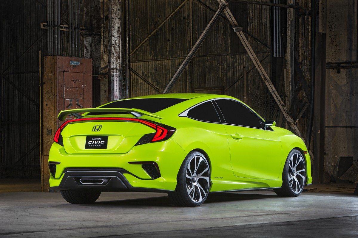Honda Civic Concept is New York's Colored Spot, Previews the New 2016 ...