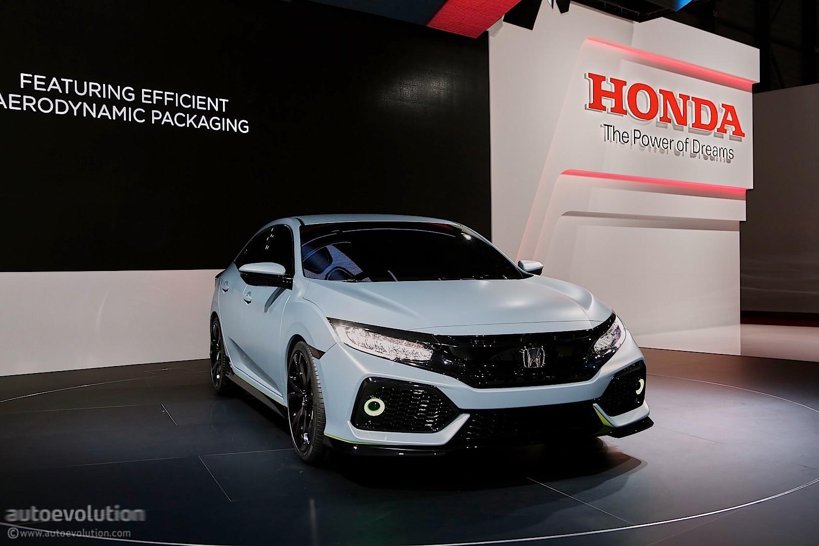 ... 2016 Honda Civic Hatchback Prototype Live In Geneva ...