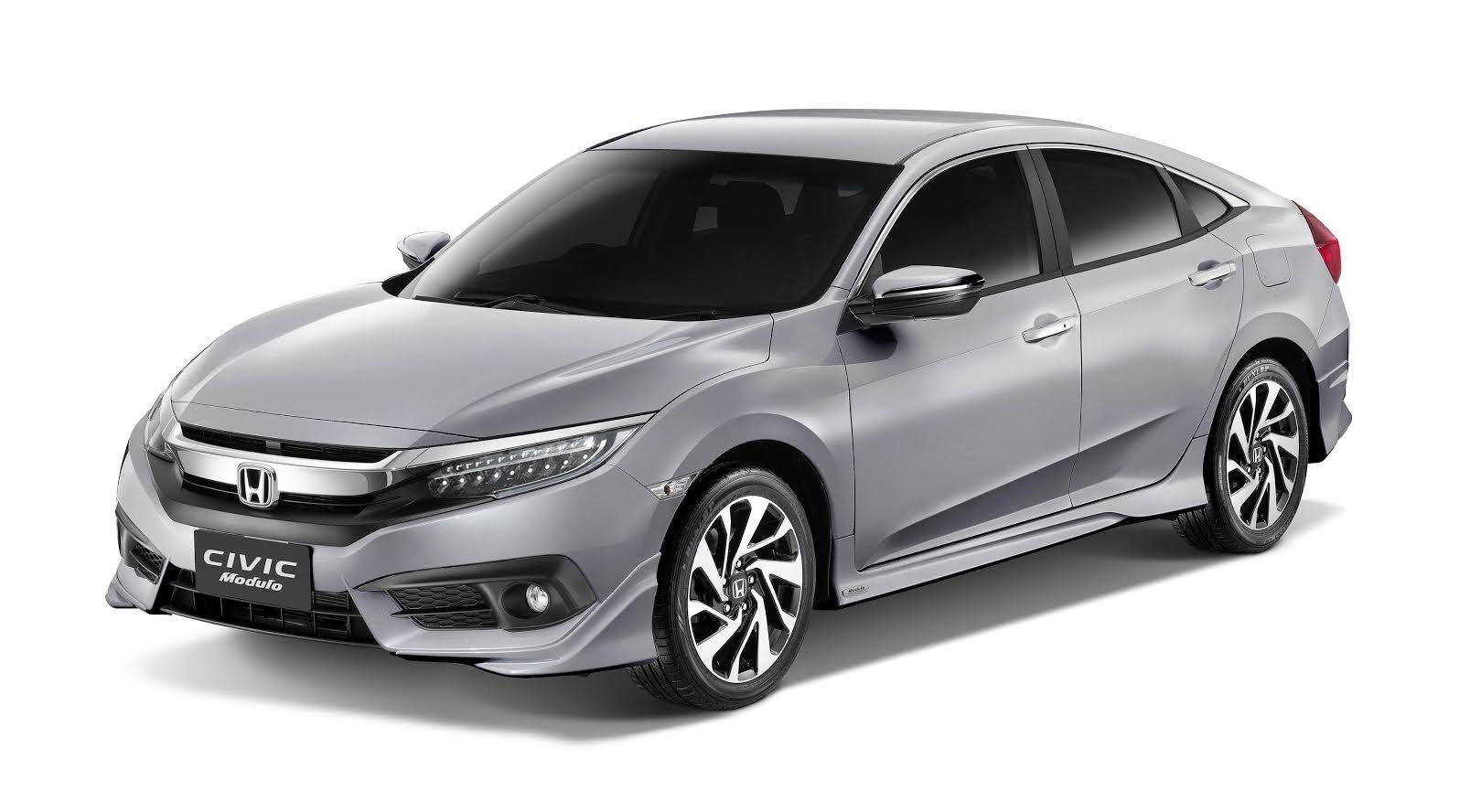 Honda Civic: Honda Civic RS Turbo Modulo Launched With Body Kit