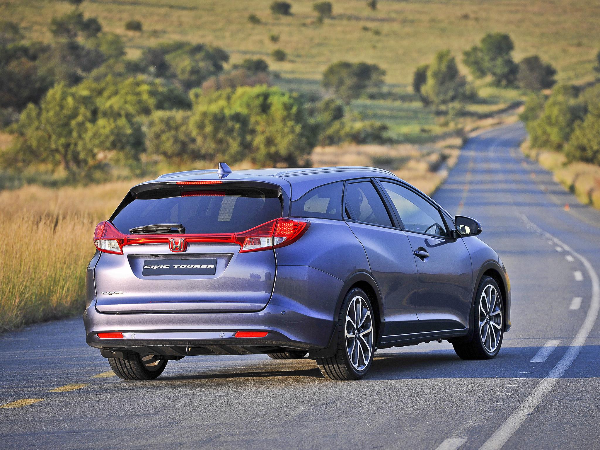 Honda Civic Tourer Arrives in South Africa - autoevolution