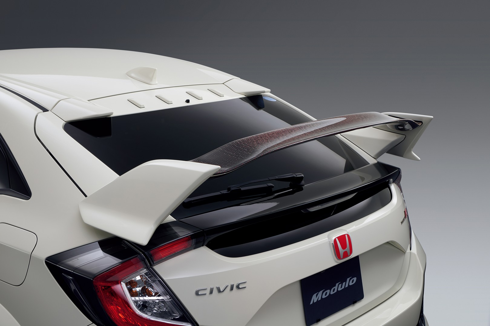 Honda Civic Type R Gets Real Real Carbon Wing Accessory in ...