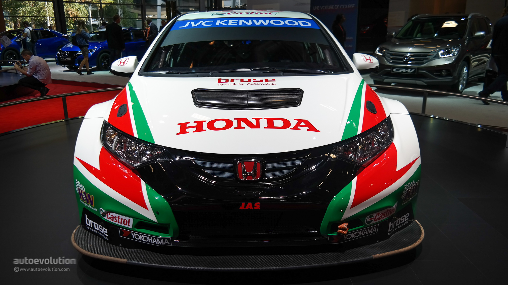 ... Honda Civic Type R Concept II Looks Awesome In Paris