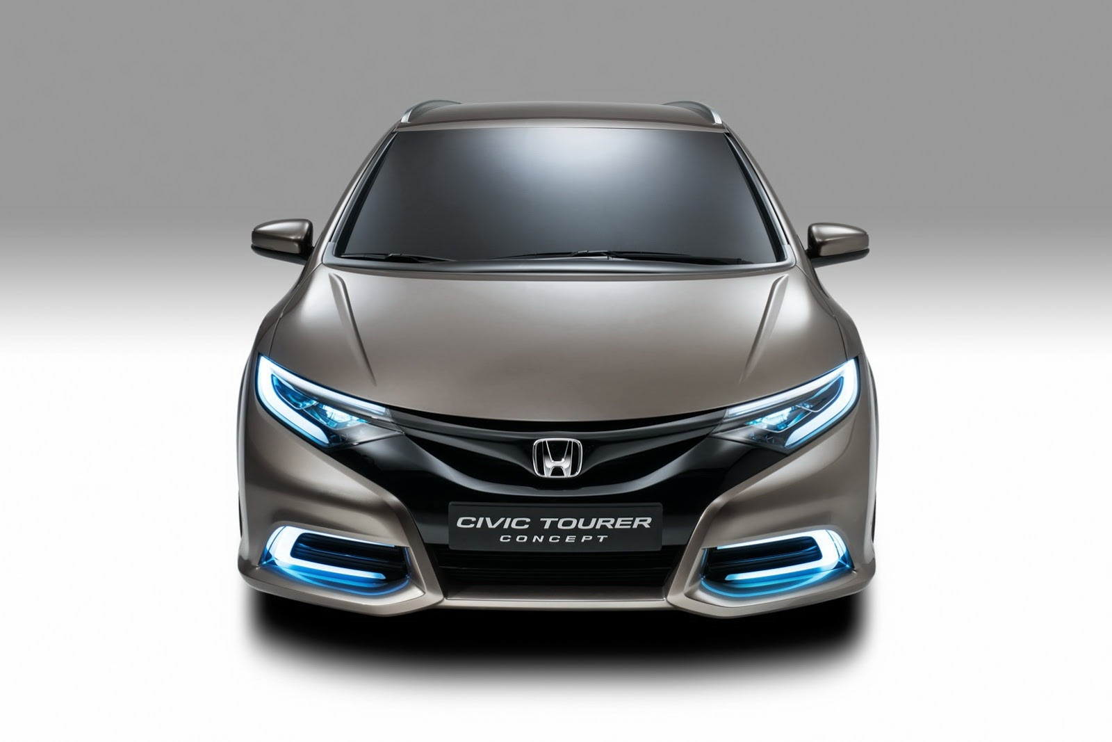 Honda Civic Wagon Concept Looks Beautiful in Geneva [Live Photos ...
