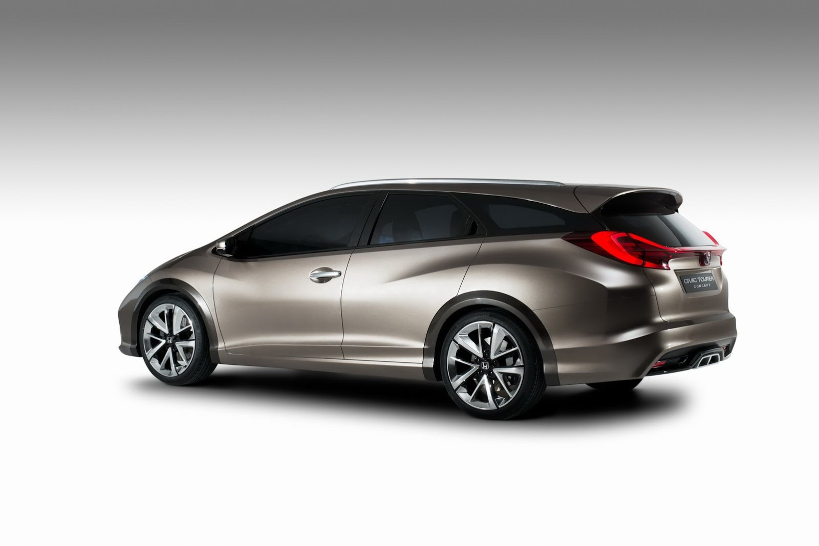 honda civic wagon concept looks beautiful in geneva live photos autoevolution. Black Bedroom Furniture Sets. Home Design Ideas