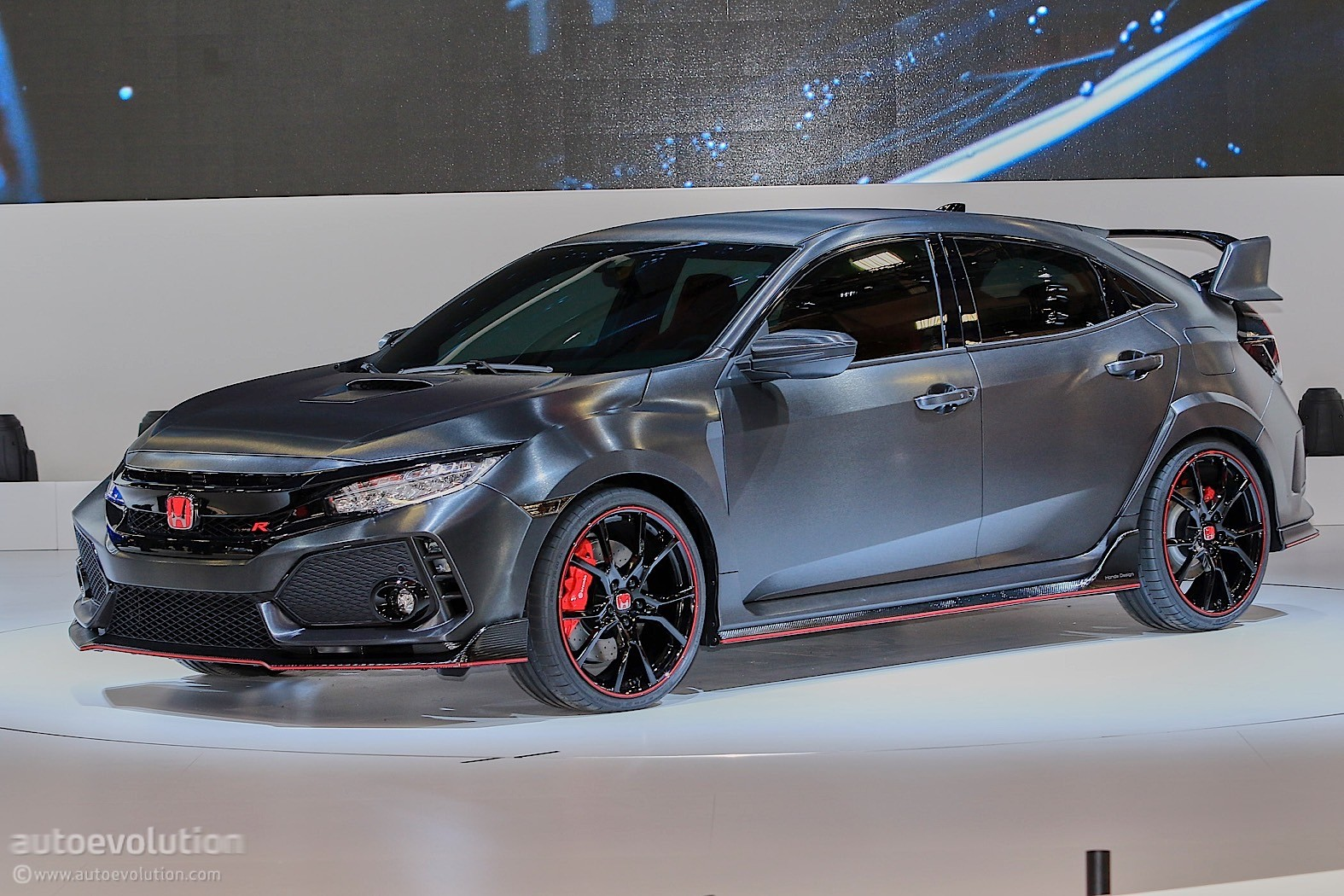 honda confirms new civic type r for 2017 geneva motor show. Black Bedroom Furniture Sets. Home Design Ideas
