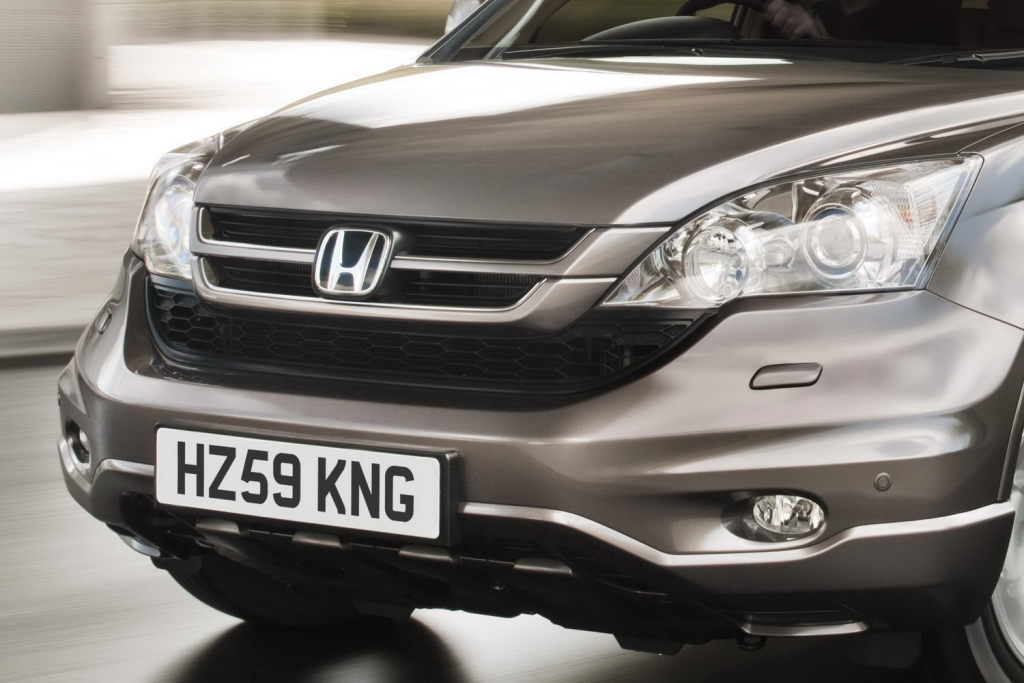 Honda CR-V 2010 Facelift European Spec First Photos - autoevolution