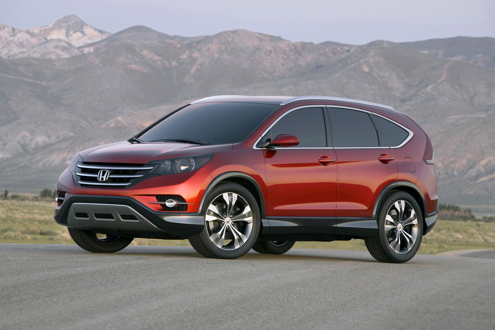 Honda Cr V Concept Unveiled In Full Autoevolution
