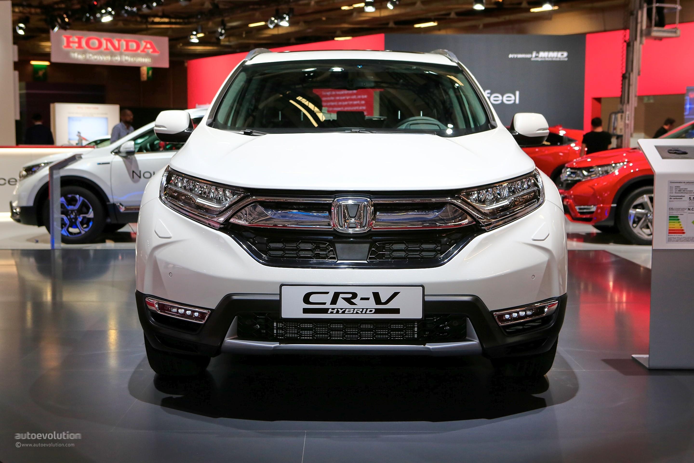 Honda Cr V Hybrid In Paris