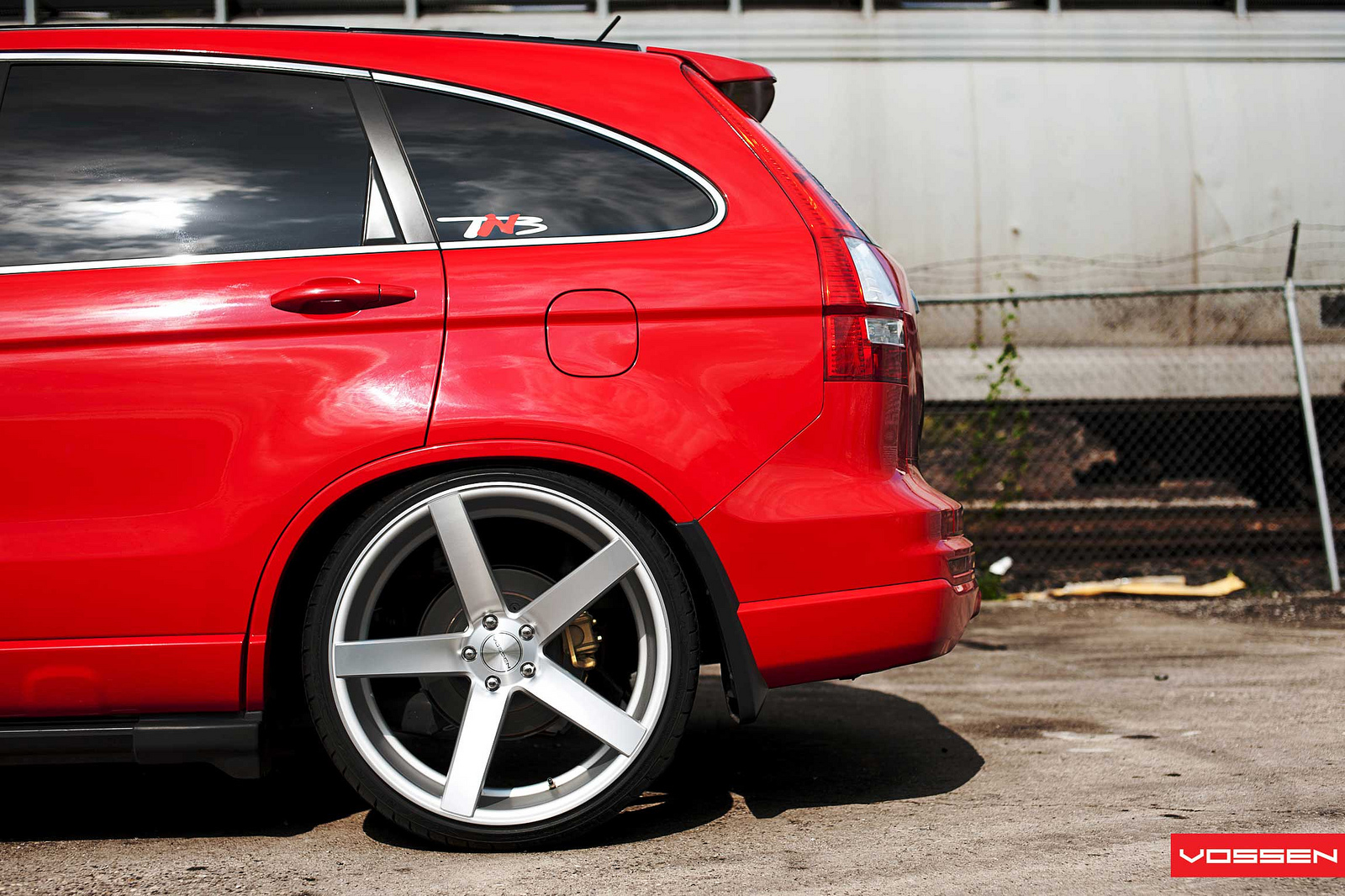 Honda Cr V On Vossen Wheels