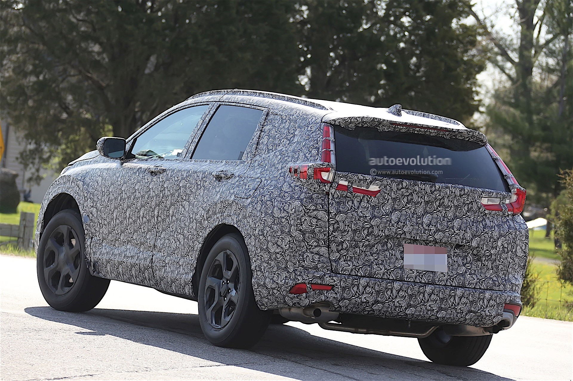 2018 Honda CR V Spied for the First Time autoevolution