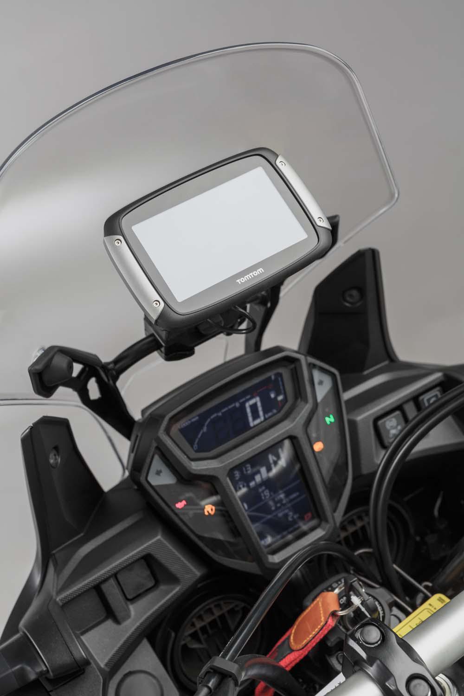 Honda CRF1000L Africa Twin Receives Full SW-Motech ...