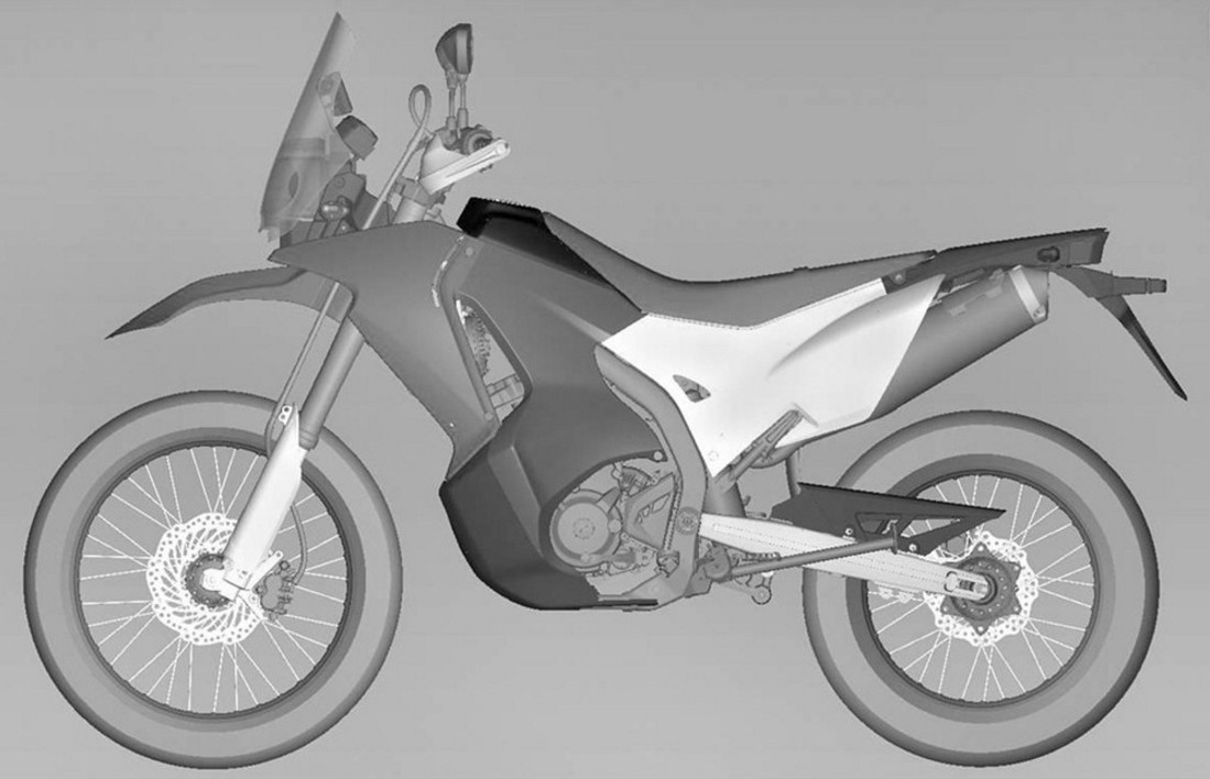 honda crf250 rally to become reality heading for. Black Bedroom Furniture Sets. Home Design Ideas