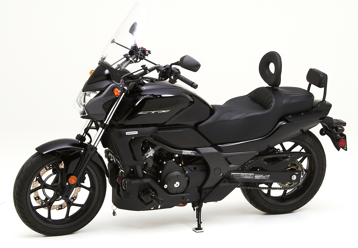 honda ctx 700 and 700n get corbin saddles autoevolution. Black Bedroom Furniture Sets. Home Design Ideas