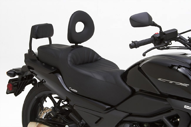 Honda CTX 700 and 700N Get Corbin Saddles - autoevolution