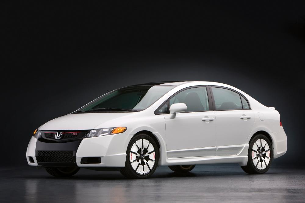 Honda Debuts Civic Tuning Parts