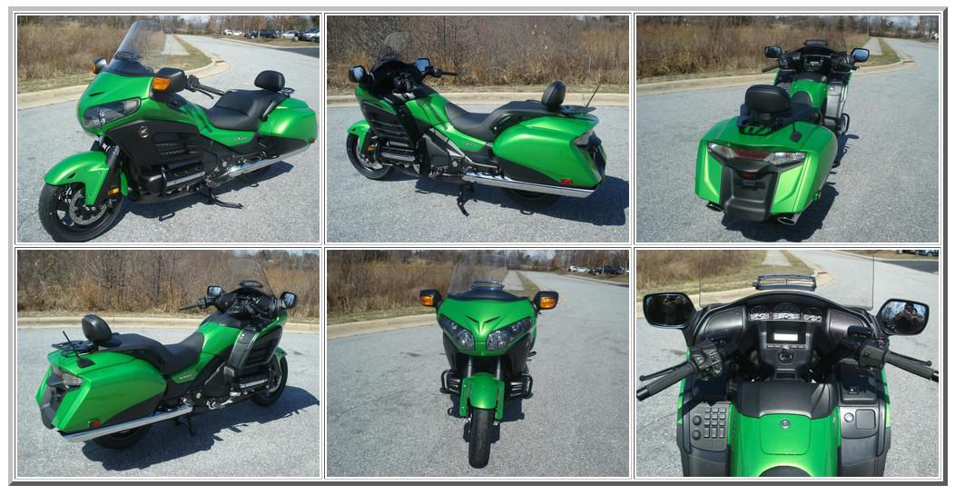 Honda details the f6b deluxe package custom green one spotted autoevolution