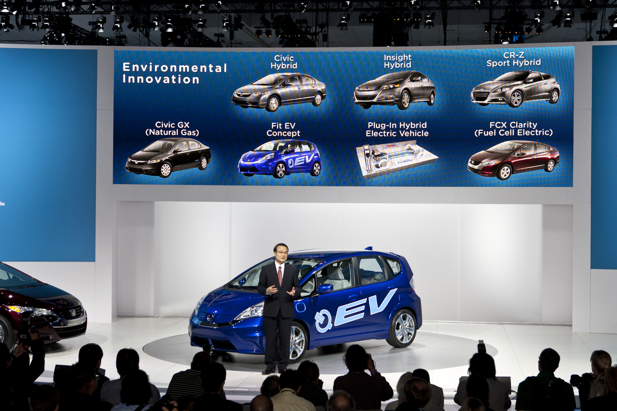 Honda honda fit ev range : Honda Fit EV Concept Unveiled at the 2010 LA Auto Show - autoevolution